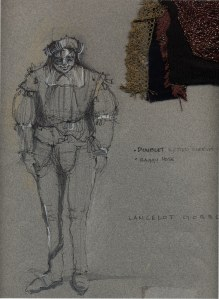Merchant of Venice  Concept Sketch