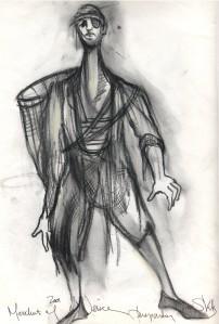 Merchant of Venice - Prep Sketch
